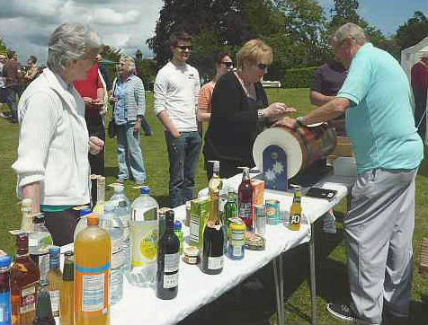 Church fete 11.06.11 - the tombola