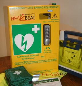 Defibrillator Cabinet