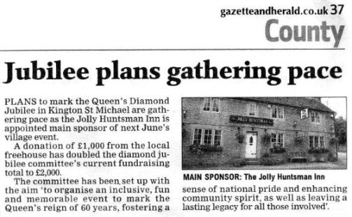 Gazette clipping October 2011