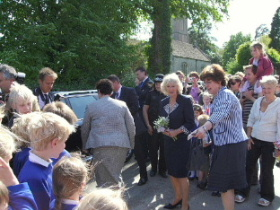 Duchess of Cornwall's visit