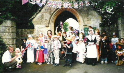 Fancy dress parade 2002