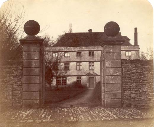 The old Manor House (Circa late 19th century)