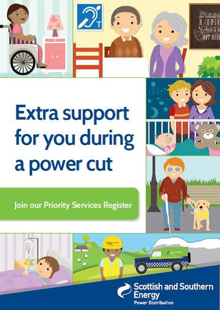 Power Cut information