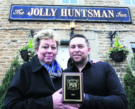 Jolly Huntsman pub of the year 2013