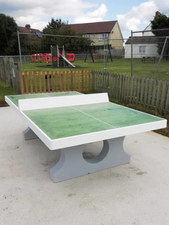 New table tennis table 01.09.2020