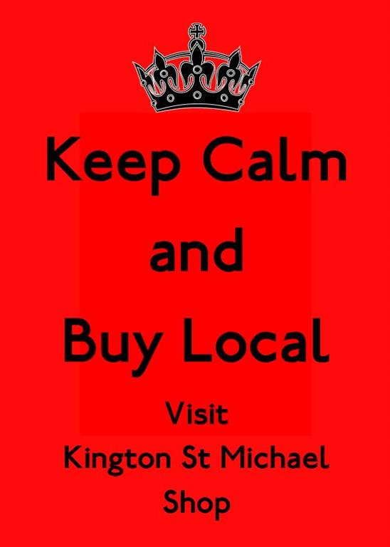 Keep Calm & Buy Local poster
