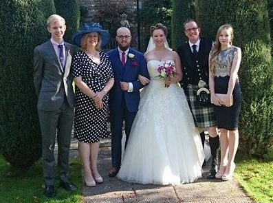 Alexander and Heather's wedding, 1st November 2014