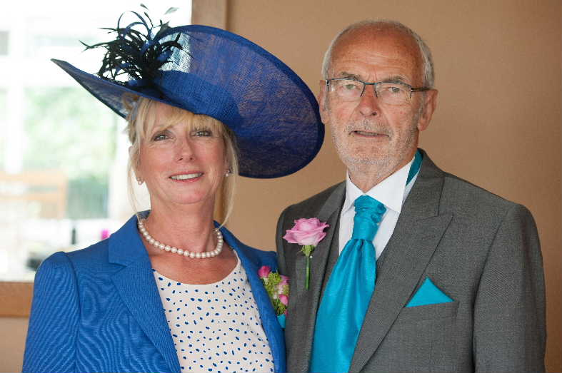 Caroline and Colin Hooper, 19th July 2013