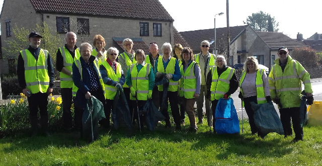 WI litter picking 30.03.19